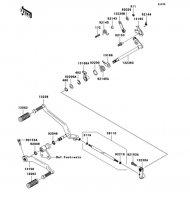 Gear Change Mechanism(A1) VN2000 2004(VN2000-A1) - Kawasaki純正部品
