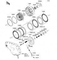 Clutch VN2000 2004(VN2000-A1) - Kawasaki純正部品
