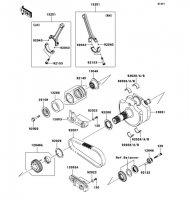 Crankshaft VN2000 2004(VN2000-A1) - Kawasaki純正部品