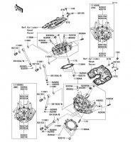 Cylinder Head VN2000 2004(VN2000-A1) - Kawasaki純正部品