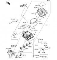 Air Cleaner Ninja ZX-6R 2012(ZX600RCF) - Kawasaki純正部品