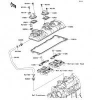 Cylinder Head Cover Ninja ZX-6R 2012(ZX600RCF) - Kawasaki純正部品