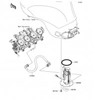 Fuel Pump Ninja ZX-6R ABS 2013(ZX656FDF) - Kawasaki純正部品