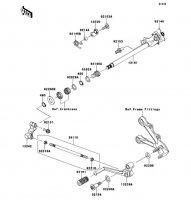 Gear Change Mechanism Ninja ZX-6R ABS 2013(ZX656FDF) - Kawasaki純正部品