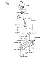 Crankshaft/Piston(s) Ninja ZX-6R ABS 2013(ZX656FDF) - Kawasaki純正部品