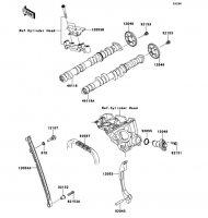 Camshaft(s)/Tensioner Ninja ZX-6R ABS 2013(ZX656FDF) - Kawasaki純正部品