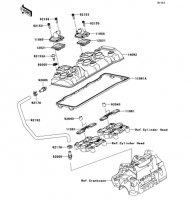 Cylinder Head Cover Ninja ZX-6R ABS 2013(ZX656FDF) - Kawasaki純正部品