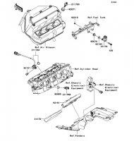 Fuel Injection Nina ZX-6RR 2005(ZX600-N1H) - Kawasaki純正部品