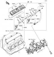 Top Feed Injecter Nina ZX-6RR 2005(ZX600-N1H) - Kawasaki純正部品