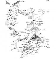 Muffler(s) Nina ZX-6RR 2005(ZX600-N1H) - Kawasaki純正部品