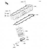 Cylinder/Piston(s) Nina ZX-6RR 2005(ZX600-N1H) - Kawasaki純正部品