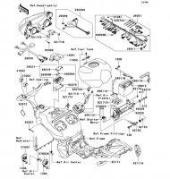 Chassis Electrical Equipment Ninja ZX-12R 2006(ZX1200B6F) - Kawasaki純正部品