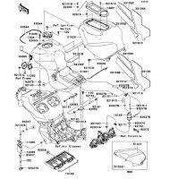 Fuel Tank Ninja ZX-12R 2006(ZX1200B6F) - Kawasaki純正部品