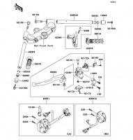 Handlebar Ninja ZX-12R 2006(ZX1200B6F) - Kawasaki純正部品