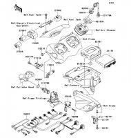 Fuel Injection Ninja ZX-12R 2006(ZX1200B6F) - Kawasaki純正部品