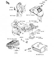 Fuel Injection VERSYS 2011(KLE650CBF) - Kawasaki純正部品