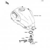 Fuel Pump VERSYS 2011(KLE650CBF) - Kawasaki純正部品