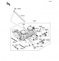 Throttle VERSYS 2011(KLE650CBF) - Kawasaki純正部品