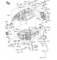 Crankcase VERSYS 2011(KLE650CBF) - Kawasaki純正部品