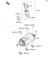 Crankshaft VERSYS 2011(KLE650CBF) - Kawasaki純正部品