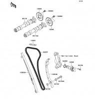 Camshaft(s)/Tensioner VERSYS 2011(KLE650CBF) - Kawasaki純正部品