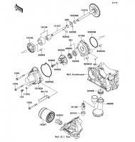 Oil Pump VERSYS 1000 2012(KLZ1000ACF) - Kawasaki純正部品
