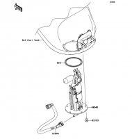 Fuel Pump VERSYS 1000 2012(KLZ1000ACF) - Kawasaki純正部品