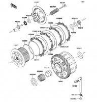 Clutch VERSYS 1000 2012(KLZ1000ACF) - Kawasaki純正部品