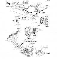 Muffler(s) VERSYS 1000 2012(KLZ1000ACF) - Kawasaki純正部品