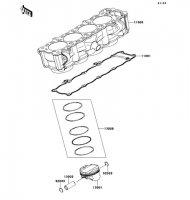 Cylinder/Piston(s) VERSYS 1000 2012(KLZ1000ACF) - Kawasaki純正部品