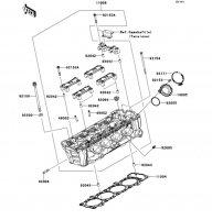 Cylinder Head VERSYS 1000 2012(KLZ1000ACF) - Kawasaki純正部品