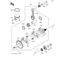 クランクシャフト/ピストン KX85 2015(KX85CFF) - Kawasaki純正部品