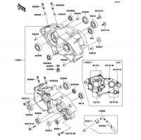 クランクケース KX65 2014(KX65AEF) - Kawasaki純正部品