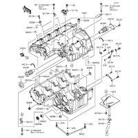 Crankcase Z800 2015(ZR800AFF) - Kawasaki純正部品