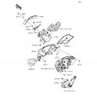 カウリング Z250 2013(ER250CDF) - Kawasaki純正部品