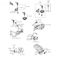 イグニッションスイッチ Z250 2013(ER250CDF) - Kawasaki純正部品