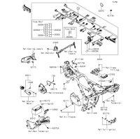 車体電装品 Z250 2013(ER250CDF) - Kawasaki純正部品