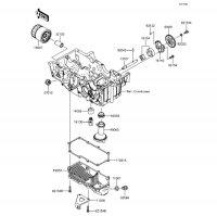 オイルポンプ Z250 2013(ER250CDF) - Kawasaki純正部品