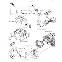 フユーエルインジェクション Z250 2013(ER250CDF) - Kawasaki純正部品