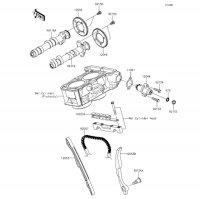 カムシャフト/テンショナ Z250 2013(ER250CDS) - Kawasaki純正部品