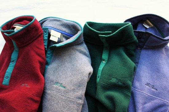 L.L.Bean/Fleece Pullover(Dead Stock)