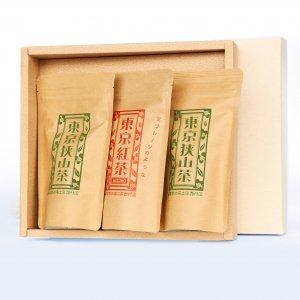 緑茶と紅茶のティーバッグセット