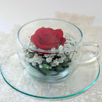 かわいいティーカップ