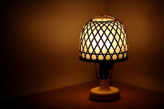 「彩優灯」 虎斑竹と手漉き土佐和紙の手作り照明