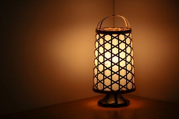 「夜想灯」 竹と手漉き土佐和紙の手作り照明