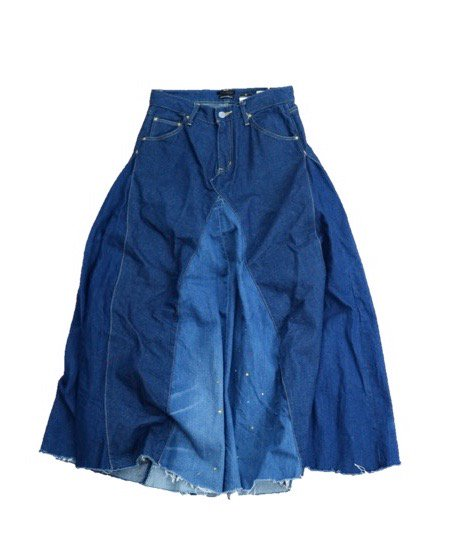 ONE IN THE WORLD/DENIM SKIRT