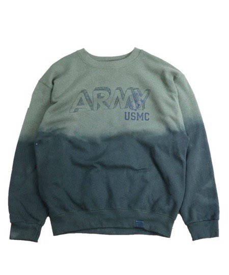 ONE IN THE WORLD/GRADATION ARMY SWEAT