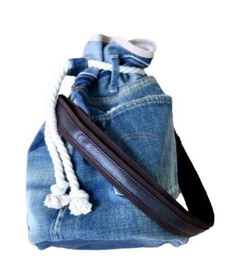 ONE IN THE WORLD/2WAY DENIM BAG