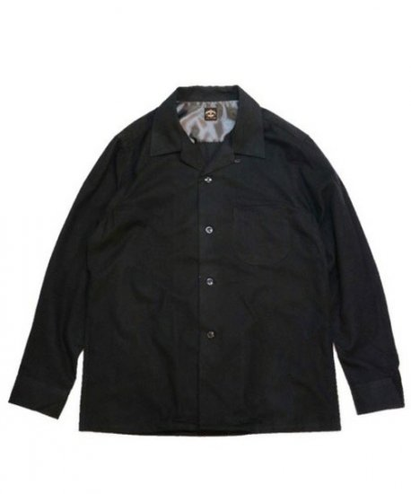TOWN CRAFT/SOLID NEL OPEN SHIRTS