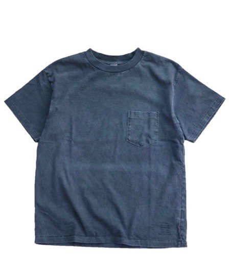 TOWNCRAFT/CLASSIC POCKET TEE PIGMENT-DYE